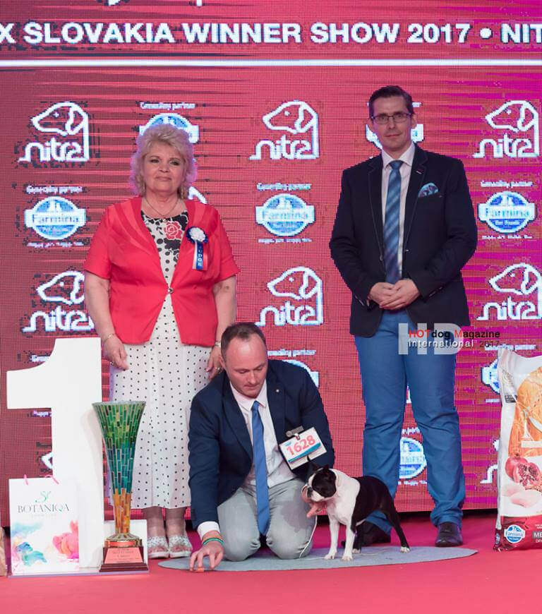 JUNIOR BEST IN SHOW GRAND PRIX SLOVAKIA